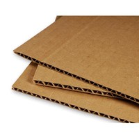Simple cardboard tablet stand